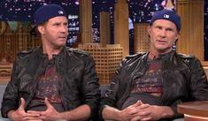Entretenido duelo de batería entre Chad Smith y Will Ferrell
