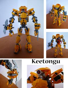 Customized Keetongu by on DeviantArt Lego Robot, Robots, Lego Bionicle Sets, Hero Factory, The Originals Characters, Everything Is Awesome, Lego Stuff, Stick Figures, Cool Lego