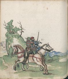 Title: Goliath (MS Germ.Quart.2020), Page: Folio 188v, Date: 1510-1520