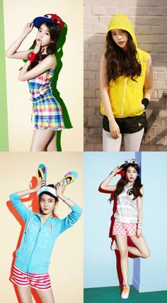 [Style] IU shows off her adorable outfits for fashion magazine ~ mykpopnote