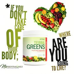 We all need this! We get busy and life takes over.  Get your ultimate support with dōTERRA Terra Greens.   Do you take care of yourself properly? ☀️Provides the body with essential nutrients ☀️Supports immune health* ☀️Supports digestive health* ☀️Supports weight management* ☀️All natural ingredients ☀️GMO and gluten free ☀️Vegan friendly