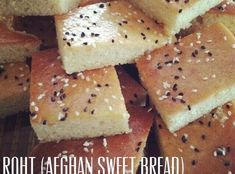 How to Make Roht (Afghan Sweet Bread)