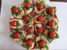 lady bug crackers