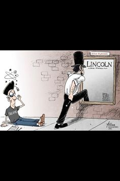 Haha, this should be the new Lincoln movie ad