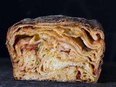 Sicilian lasagna bread