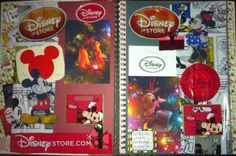 Rock, Paper, Scissors, & Scrap: Disney Christmas SMASH Page