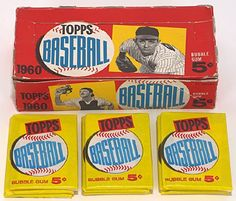54 Best Baseball Card Boxes Images In 2018 Baseball Card