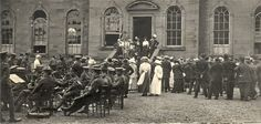 Cramond House,  Lord Salvesen and the opening fete, June 1916.