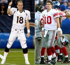 Bold Predictions: Peyton Manning's comeback with the #Broncos remains a work in progress, but when the regular season comes to a close, he and his Broncos will be back in the playoffs while little brother Eli and his defending Super Bowl champion New York #Giants will not.