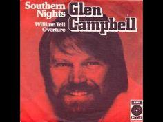 Glen Campbell - Southern Nights Feel so good     Feel so good It's frigth'ning      Wish I could Stop this world from fighting        La da da da da da                 la da da da da da da da da
