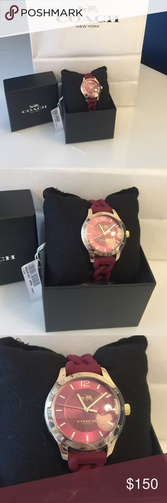 🍁Coach Watch!🍁 Brand New! *OPEN TO RESONABLE OFFERS* ❄️Great Holiday Gift!❄️Deal Coach Accessories Watches
