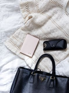 Coffee Table Diary blog, The daily edited passport cover monogramed
