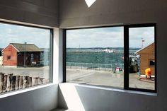 Strandwood House, design épuré en allemagne // http://www.esperluette-blog.fr/