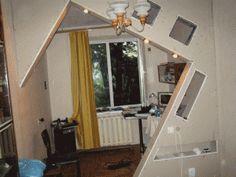 Разделение комнаты на зоны при помощи перегородок