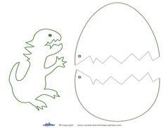 Medium Printable Dinosaur Craft - Coolest Free Printables                                                                                                                                                                                 More