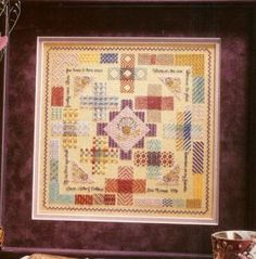 crazy for darning samplers - but patterns are hard to find