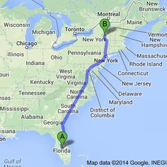 New York To Florida Drive >> Driving From New York To Florida A Step By Step Itinerary Kids