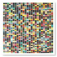 Gerhard Richter, 1025 Farben.