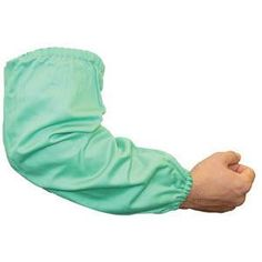 Universal FR Sateen Welders Sleeves #940-19 Welding Gear, Warm Weather, Father, Indoor, Shoulder, Green, Sleeves, Fabric, Cotton