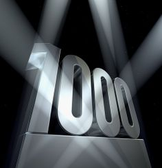 . . . has today reached the over 1000 'Likes' mark on Facebook. Many thanks to our followers.