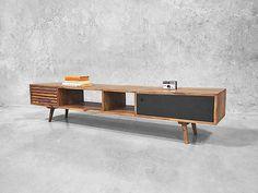 Scandinavian Entertainment Unit TV Stand Retro Danish Furniture Sideboard Modern