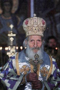 Patriarch Pavle of Serbis