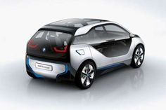 debuting in july the BMW electric concept car is a sustainably designed hatchback, capable of attaining a range up to 100 miles. Bmw I3, Car Photos, Car Pictures, Latest Bmw, New Bmw, Smart Car, Electric Cars, Electric Vehicle, Bmw Cars