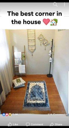Eid decoration, eid mubarak, eid party city, why is eid celebrated, eid today Home Room Design, Room Interior Design, House Design, Home Decor Furniture, Diy Home Decor, Decoraciones Ramadan, Islamic Wall Decor, Prayer Corner, Ramadan Decorations