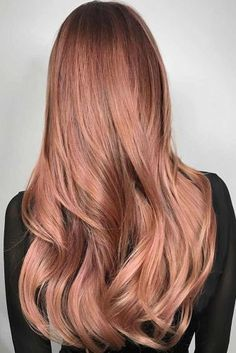 Rose Gold Hair for Brunettes picture3
