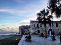 Ottoman's castle, Larnaca, Cyprus (south part of island)/zamek z czasów ottomańskich, Larnaka, Cypr (południowa część wyspy)