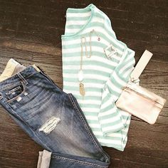 """""""Mint"""" to be.... #weekendishere #casualchic #ootd"""