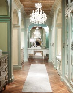 My dream closet/dressing room!  Habersham Home