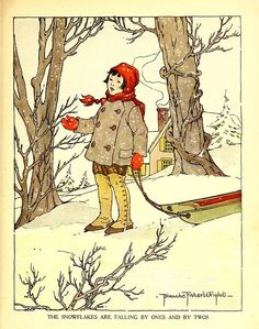 geisterseher Leroy F. Jackson, The Peter Patter Book (1918) Illustrations by Blanche Fisher Wright.  via ( jada111)