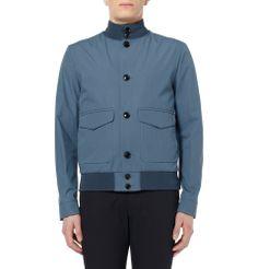 Hardy Amies - Cotton Bomber Jacket MR PORTER