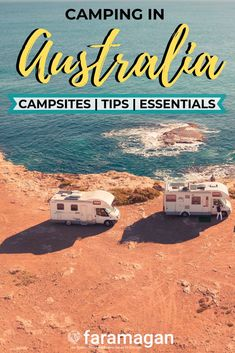 The ultimate guide for camping in Australia includes campervan hacks, the best campsites in Australia, tips for keeping cool, camping essentials, how to find free campsites in Australia and more! Winter Camping, Camping With Kids, Family Camping, Retro Camping, Campervan Australia, Australia Travel, Motorhomes Australia, Kayak Camping, Camping Hacks
