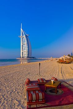 Burj Al Arab Hotel - Dubai, UAE #travel #burj