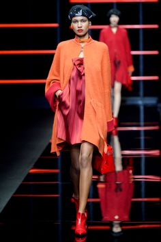 See all the looks from the show Fall Trends, Emporio Armani, Fashion News, Ready To Wear, Runway, Winter, Photos, How To Wear, Women