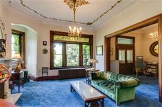 3574 Burch Avenue is on the market and it looks like my wildest dreams overgrown.  Can't wait to get my license so I can take clients to great historic homes in Cincinnati!