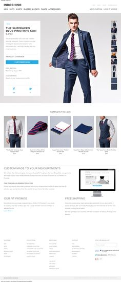 Web Design Inspiration - www.indochino.com/product/The-Superhero-Blue-Pinstripe-Suit