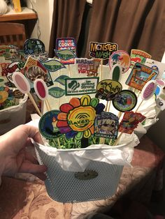 Girl Scout Patch display Girl Scout Patches, Girl Scouts, Badges, Brownies, Lunch Box, Display, Cake Brownies, Floor Space, Billboard