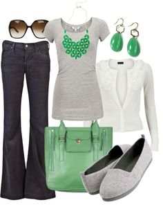 Great casual look for the weekend. Ditch the drab slip-ons and opt for a platform wedge.