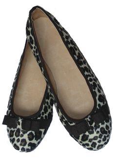 Ballerinas | Chatitas Leopardo -  Talles del 35 al 45  Zapatos Podestá  www.estilopodesta.com