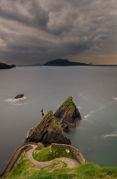 Slea Head by Slawomir Majchrzak (Slea Head is a promontory in the westernmost part of the Dingle Peninsula, located in the barony of Corca Dhuibhne in southwest County Kerry, Ireland.)