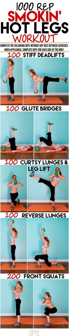 How about those 1000 reps to your Smokin' Hot Legs!?!! Feel the burn baby!!! #Workout #fitness