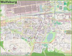 Tourist map of surroundings of Chur Maps Pinterest Maps