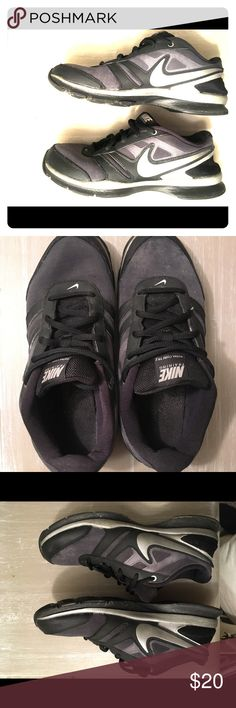 Nike Tennis Shoes Nike tennis shoes.  Woman's size 10. Very comfortable, worn only a few times, less than a year old! Nike Shoes Sneakers