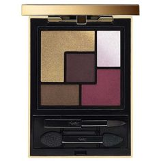 Yves Saint Laurent Couture Palette, Fall 2015 Metal Clash (150 TND) ❤ liked on Polyvore featuring beauty, blush & bronzers, makeup and red