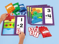 Slide & Count Simple Addition Center at Lakeshore Learning