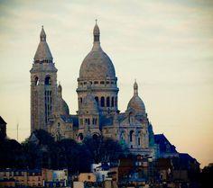 Paris. December 2009. By NikitaDB. Sacre Coeur. *