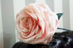 Как сделать очень большую розу из бумаги